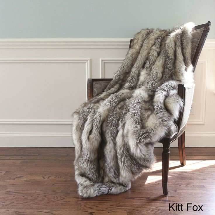 Wild Mannered Luxury Long Hair Faux Fur 60-inch Lap Throw Blanket - Overstock™ Shopping - Great Deals on Throws