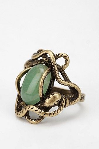 Circling Serpent Ring, Urban Outfitters