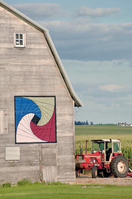 Barn Quilt, Grundy County, Iowa