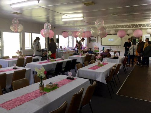 Lamb themed birthday party for a 1 year old.