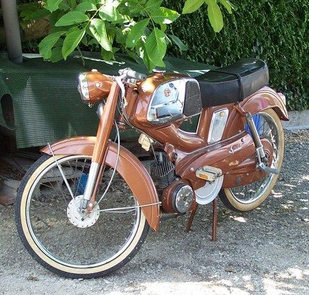 MOTOBÉCANE SP 50 - 1966