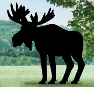 Moose Shadow Woodcrafting Pattern Everyone will do a double take when ...