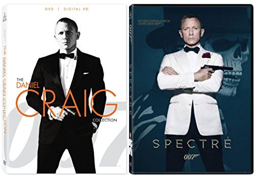 Spectre Skyfall Casino Royale Dvd Quantum Of Solace James Bond
