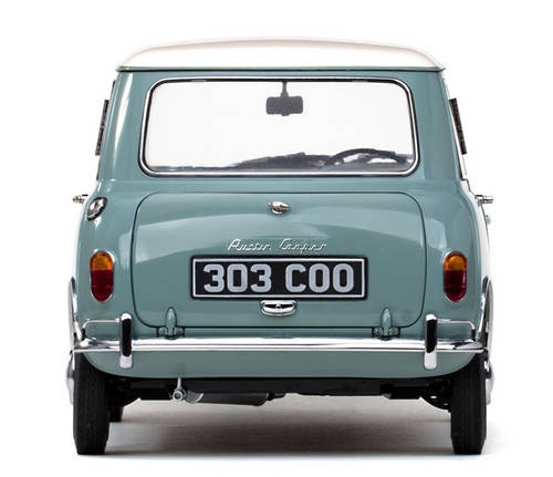 Austin Se7en Cooper - Smoke Grey/Old English  For Sale (1961)