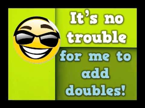 I can add doubles rap