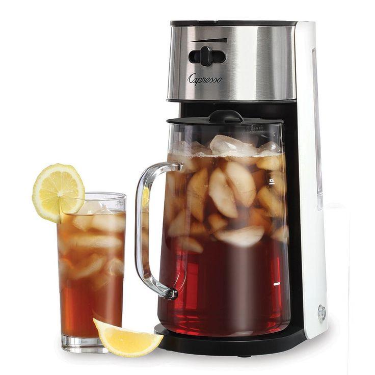 Capresso iced tea maker iced tea maker iced tea brewer