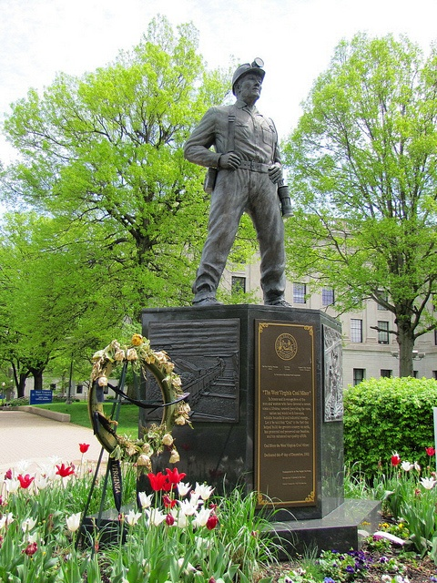 WV Coal Miner Memorial -WV State Capital Complex, Charleston, WV