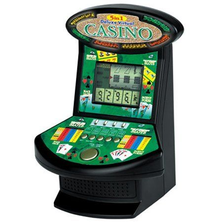 Excalibur Deluxe Virtual Casino 5-in-1 Video Game by Excalibur. $59.95. Imagine the real excitement of a blackjack or poker table, right on your desk. Virtual Casino will keep you entertained for hours at a time or for just a quick break.