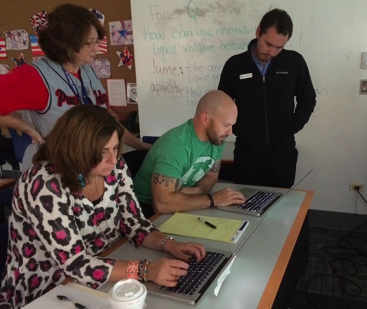 Technology Recess at Central Elementary School in Des Plaines School District CCSD 62