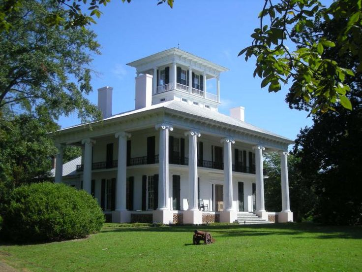 Old southern mansion eutaw alabama southern plantations for Home builders in south alabama