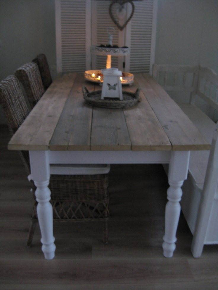 Seriously want to revamp our table to this