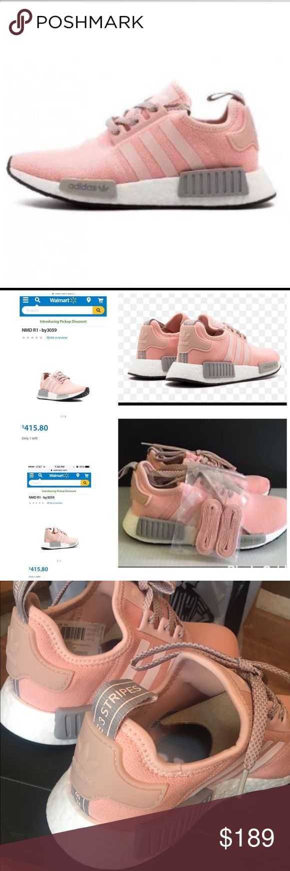 Women's Adidas NMD Fashionable,chic yet sporty. Wear with your skinnies, leggings, shorts or work out clothes. So versatile! Sold out in stores.  % authentic with proof of purchase. No low ballers please. Adidas Shoes Athletic Shoes