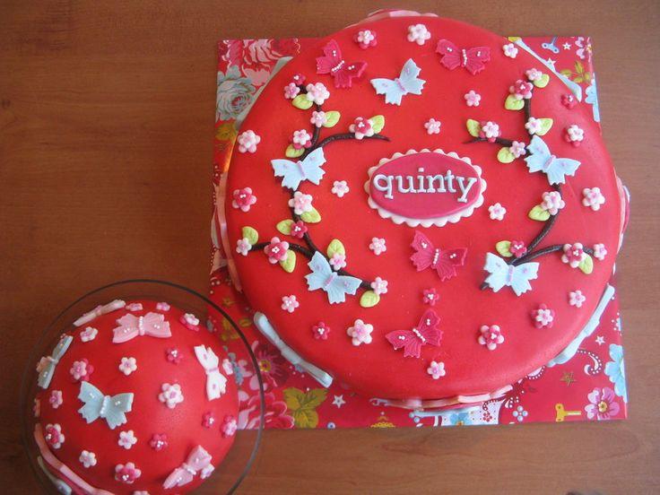 pip studio first birthday cake