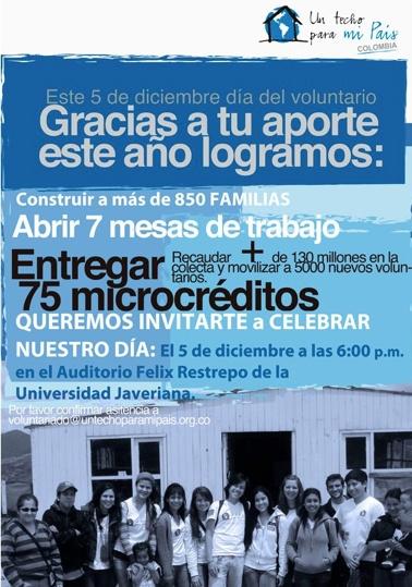 Afiches UN TECHO PARA MI PAIS by Tatiana Acevedo, via Behance