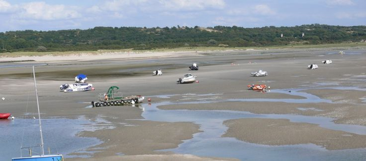 Vissersdorpjes aan de Opaalkust in Frankrijk