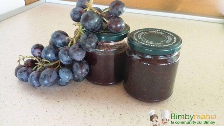 Marmellata di uva Bimby