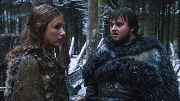 """John Bradley, who plays Sam on """"Game of Thrones,"""" tells Zap2it that his character is in one of his most comfortable emotional situations of his life this season now that he's back at Castle Black."""