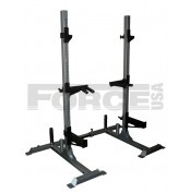 Force USA Adjustable Width Squat Stands  The Force USA Adjustable Width Squat Stand with the amazing new design with extra safety points for functional strength exercises, provides facility for the best, most effective free weight exercises in machine-free form for the ultimate workout in the comfort of your own home.   For more info visit: http://www.gymandfitness.com.au/adjustable-width-squat-stand.html