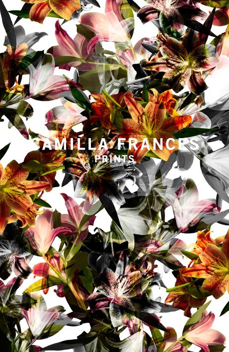 CAMILLA FRANCES is a London based designer. The collection is decorated with adventure and style, rich in colour and beautifully fresh with an expressive feminine edge. Original artworks blend a sophistication and luxury that's fitting for both catwalk and high street.