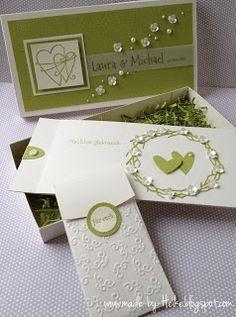 Meine kreative Welt...: Hochzeits-Set....