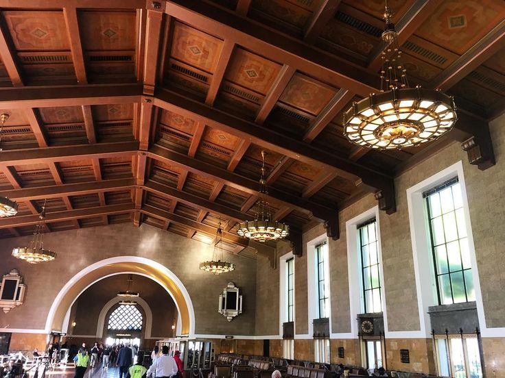I love the grandeur and romance of US train stations. Geeking out about the Coast Starlight trip today @amtrak #coaststarlight #unionstation