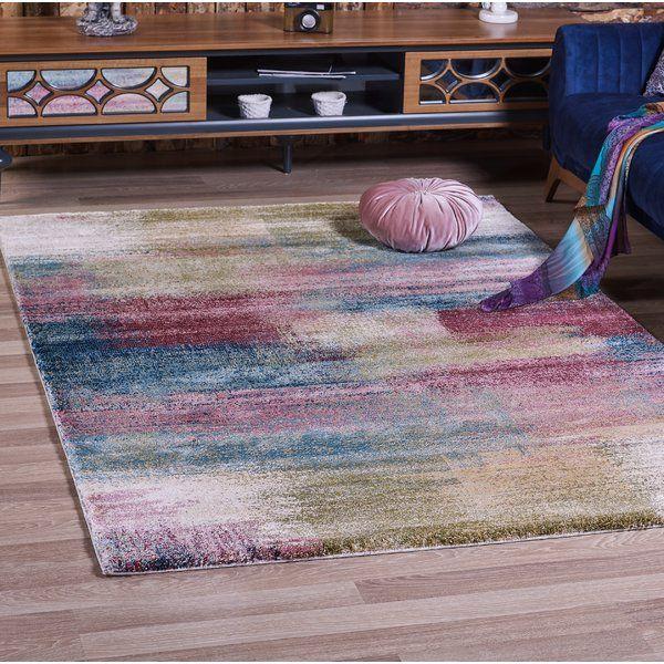 Teppich Emmett In Rosa Blau Teppich Klassische Teppiche Teppich Gelb