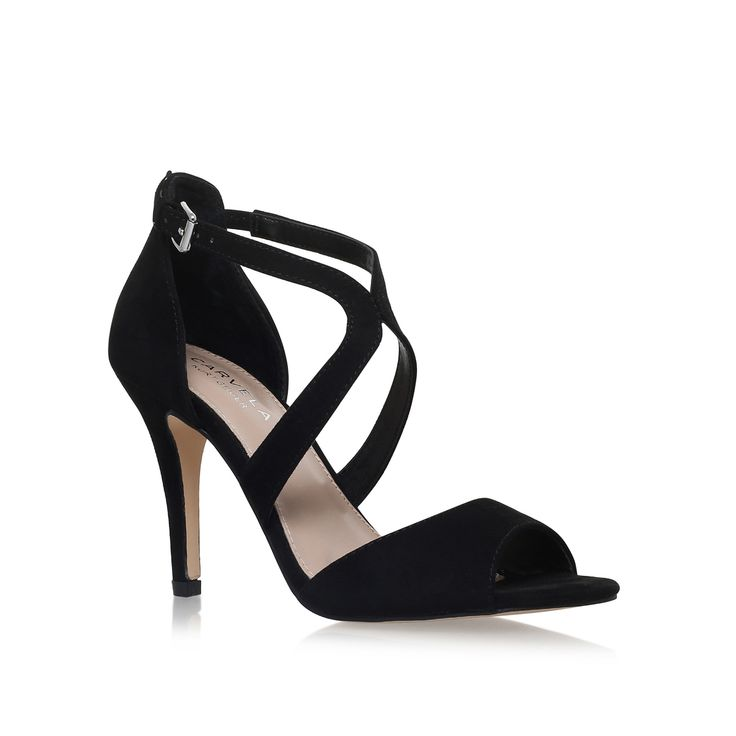 Shop JETT Pink Mid Heel Sandals by CARVELA KURT GEIGER at official Kurt Geiger Site.