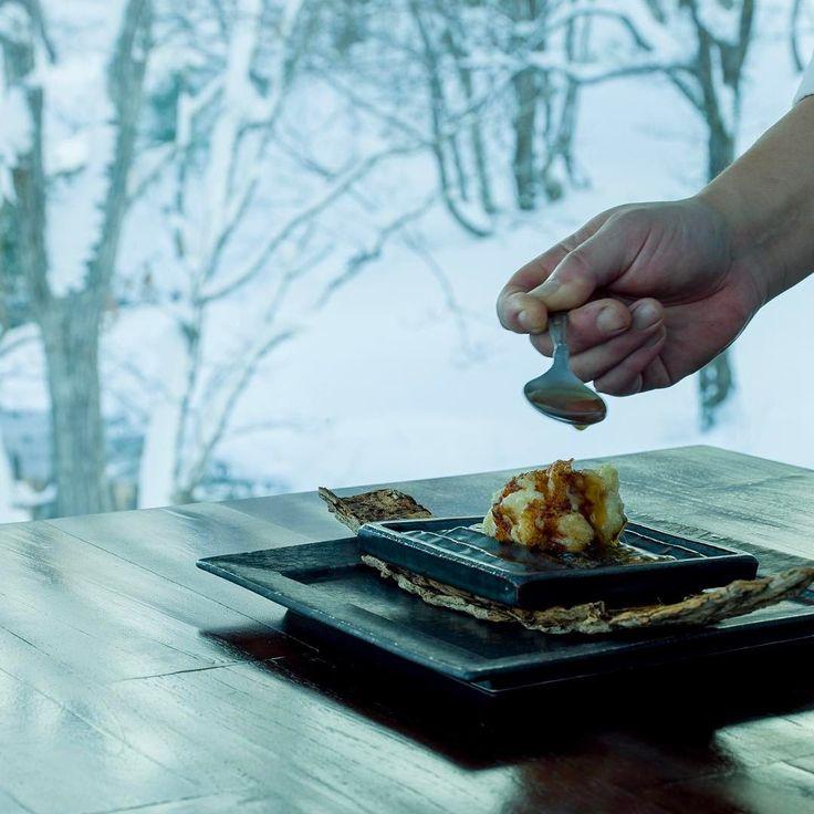 #tachi #shirako #codmilt #washoku #kaiseki #kitakaiseki #slowfood #keepitlocal #japanesefood #zaborin #japanesechef #niseko #hokkaido #winter #visitjapan | zaborin.com