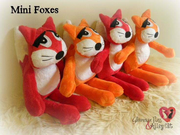 Mini Foxes ~ Now available thru FB page :)