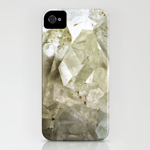 Photo iPhone4S Case  Mineral Quartz Crystal by dsbrennan on Etsy, $40.00