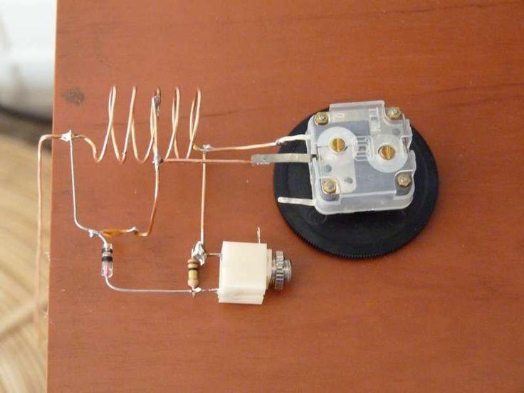 266 best crystal radio images on pinterest radios ham radio and rh pinterest com Copper Wire Junction Box