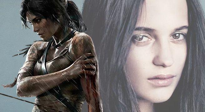 Alicia Vikander cast as Lara Croft in Tomb Raider movie.