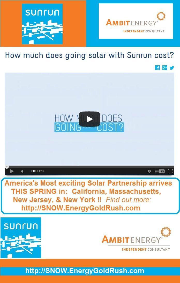 11 best Ambit Solar SunRun images on Pinterest