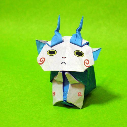 ハート 折り紙 妖怪ウォッチ 手作り 折り紙 : ro.pinterest.com