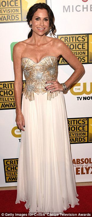 Minnie Driver in Lorena Sarbu at the 2014 Critics' Choice Television Awards http://dailym.ai/1iPUozx