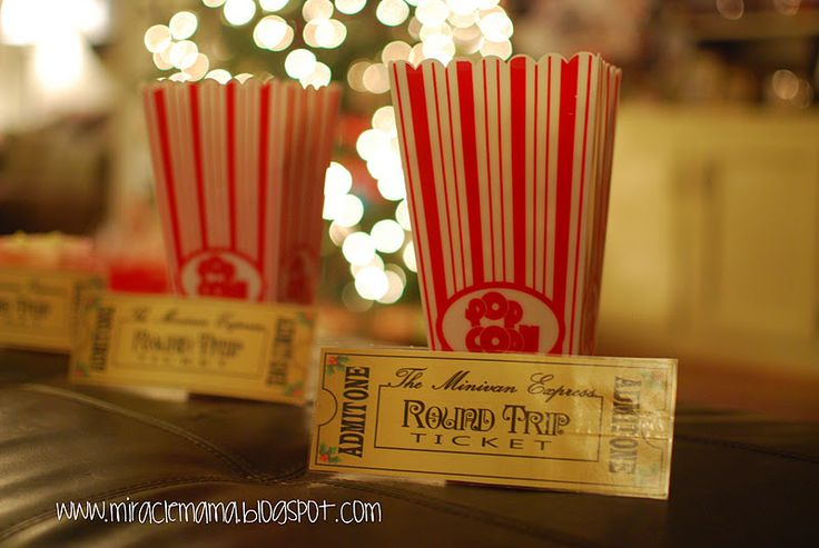 ONLY THE BEST PARENTS EVER WOULD DO THIS!!!  Definitely doing this with my littles!!  Start bedtime routine as usual, while one parent makes bags of popcorn and hot cocoa and places them in the car, don't forget to have Christmas music to play! When the kids climb into bed, they will find a ticket hidden. The kids are instructed to grab their slippers and head for the car. Upon entrance to The SUV Express, you hole punch the ticket, and travel around the city looking at all the beautiful…