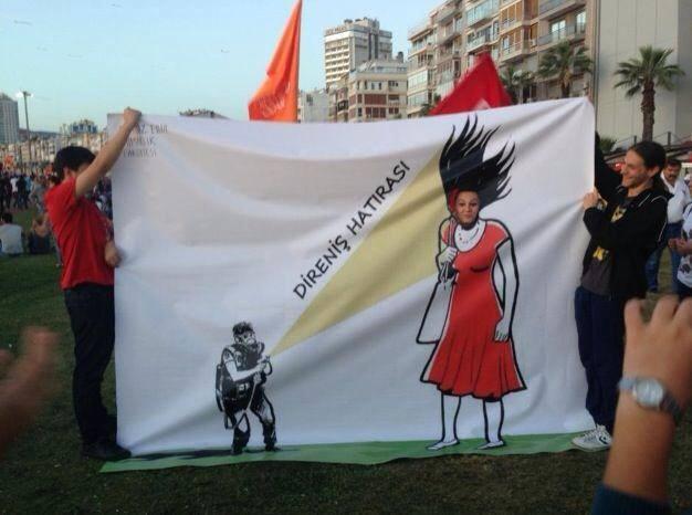 Taksim Gezi Parkı Direniş Hatırası Kordon  İZMİR :)