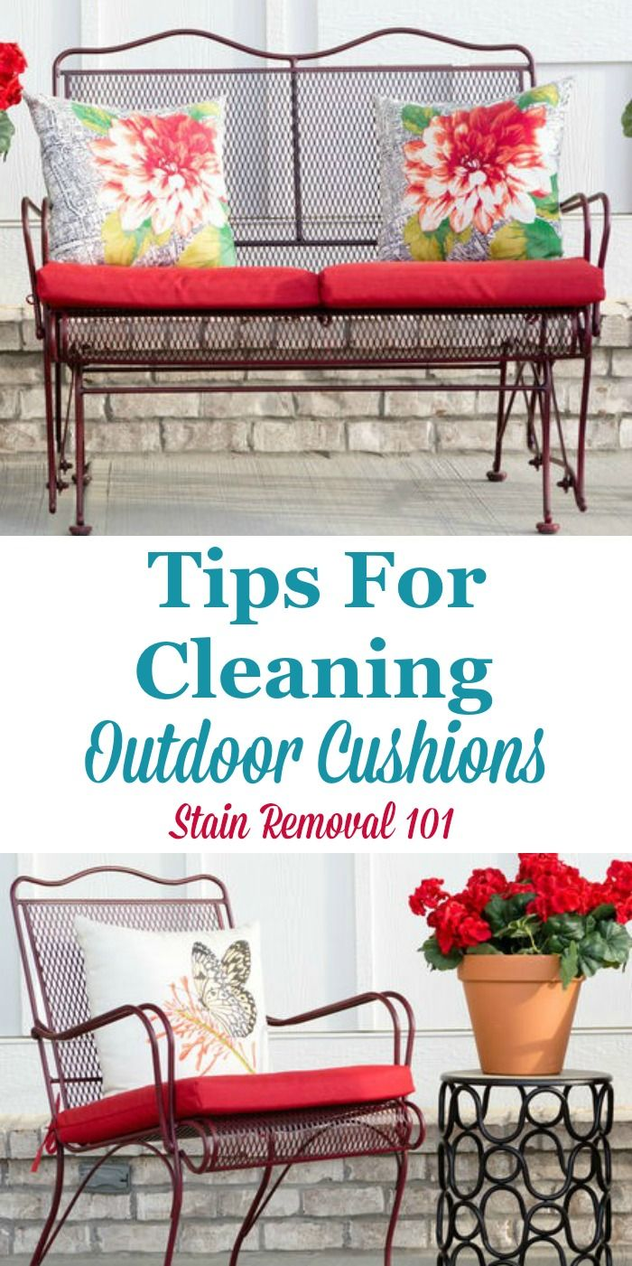 Tips For Cleaning Outdoor Furniture Clean Outdoor Furniture