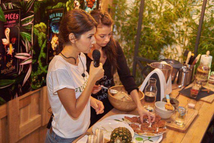 """""""Să gătim sănătos şi uşor"""" cu Tania Bordianu - #workshop #rawvegan"""