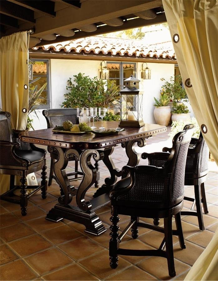 Tommy Bahama Home Kingstown Sienna Bistro Table Set
