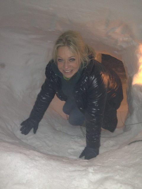 Opeens weet je wie de eerste vrouwelijke minister president van Nederland gaat worden.... Welterusten #ArcticTrainig #Mariniers Photo - Jeanine Hennis | Lockerz