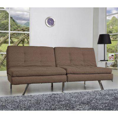Gold Sparrow Memphis Double Cushion Futon Sofa Adc Mem Csb Pux