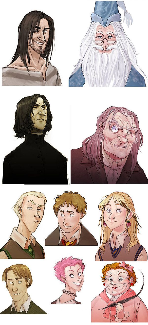 Harry Potter as Disney Characters - Imgur