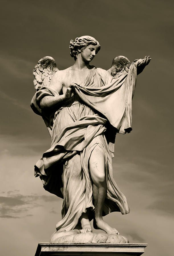 Angel Statue | Tattoos | Pinterest | Angel statues, Search ...