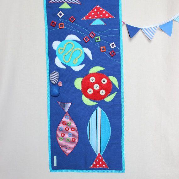 Sensory Playmat Baby Busy Blanket Baby Activity Mat от PopelineCo