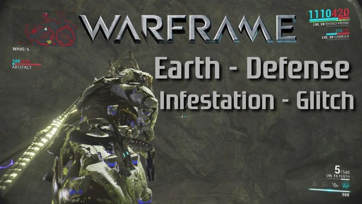 Warframe [PS4] Earth-Defense Vs. Infestation Glitch! (With a temporary f...
