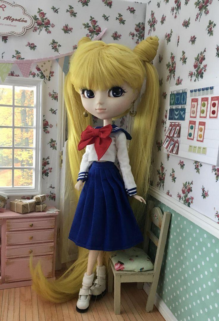 school uniform for pullip doll de MotaDeAlgodon en Etsy https://www.etsy.com/es/listing/207881538/school-uniform-for-pullip-doll