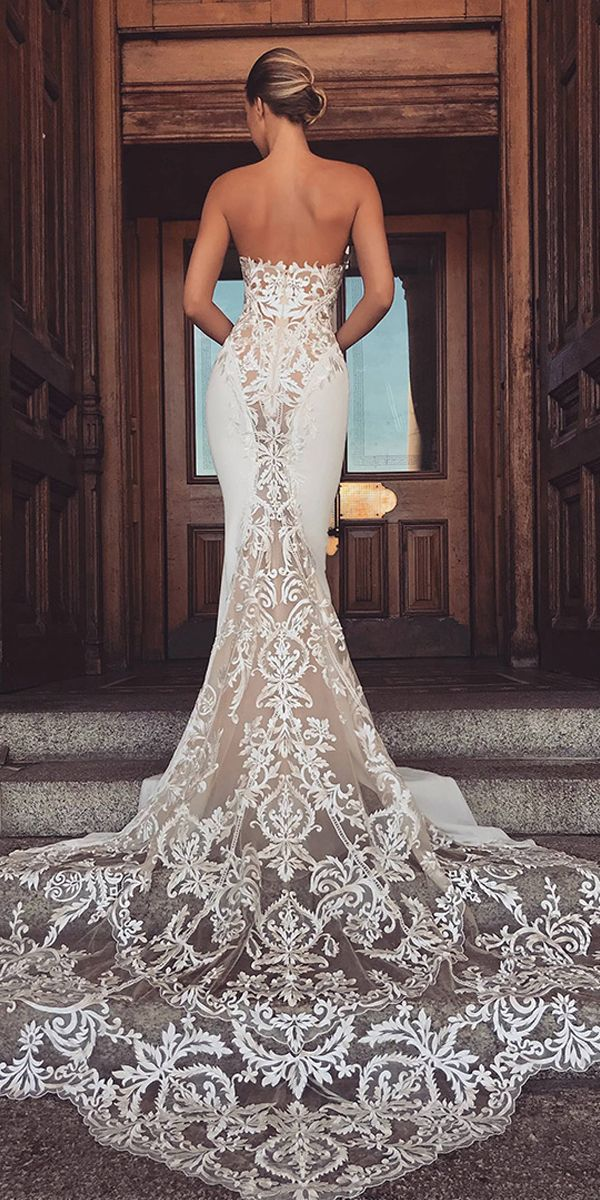 7a02f1510e01 Save Modern Four Way Spandex & Organza Sweetheart Neckline Mermaid Wedding  Dresses With Lace Appliques