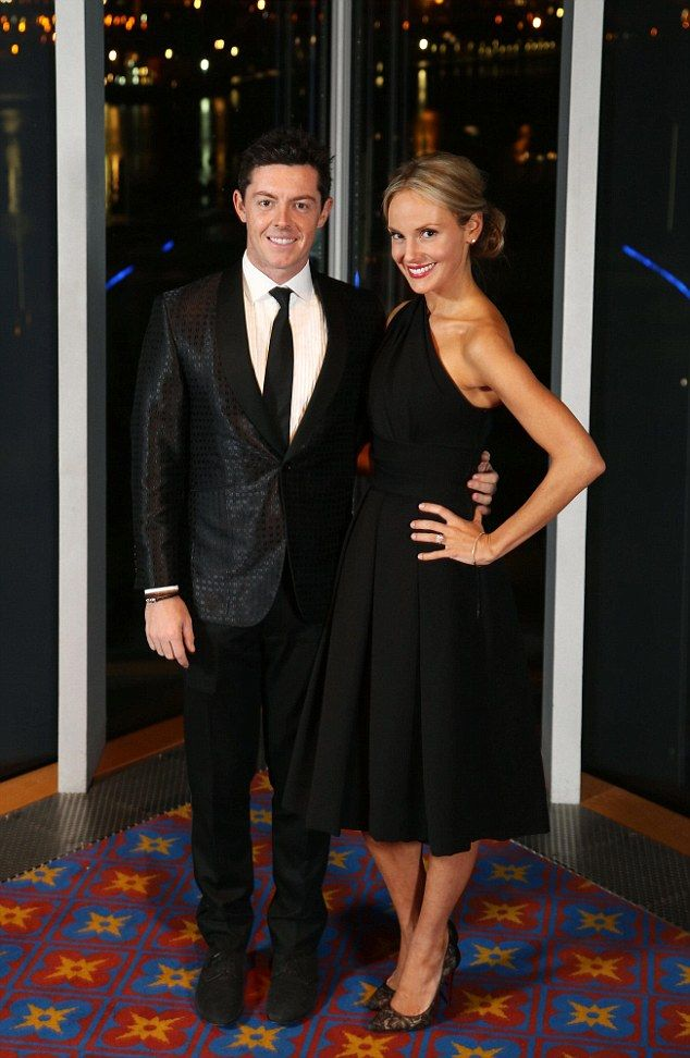 Diamond girl: Rory McIlroy has confirmed his engagement to stunning American girlfriend Erica Stoll