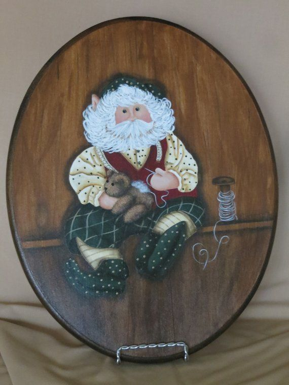 Image result for OVAL wooden hand-painted art piece